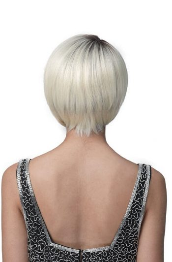 Bobbi Boss M454 Madeline Premium Synthetic Full Cap Wig Model Rear
