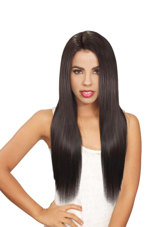 Eve Hair Inc. Platino 7 Pc Clip-In Model Front
