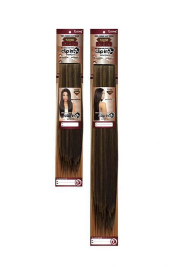 Eve Hair Inc. Platino 7 Pc Clip-In Packaging