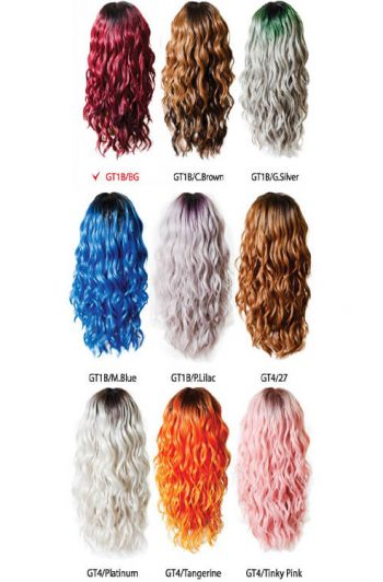 Fashion Source R'Riyana Wig Color Chart
