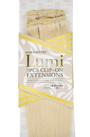 """Hair Couture Lumi 7 PC 12"""" Extensions Packaging Zoom"""