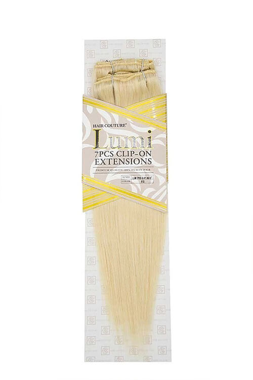 """Hair Couture Lumi 7 PC 12"""" Extensions Packaging Front"""