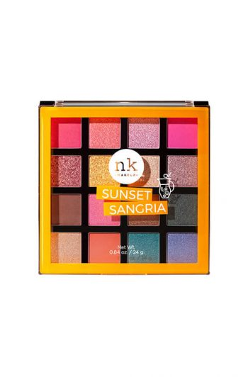 Nicka K New York 16 Color Palette Eyeshadow Sunset Sangria