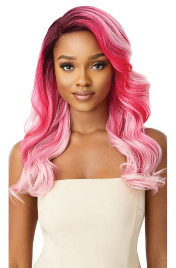 Outre Color Bomb Zoey Pink Punch Front