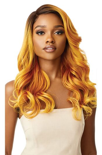Outre Color Bomb Zoey Sunburst Gold Front