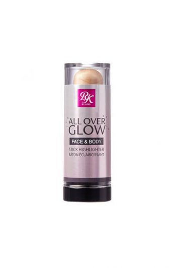 Ruby Kisses All Over Glow Face and Body Stick Highlighter and Bronzer Halo Glow