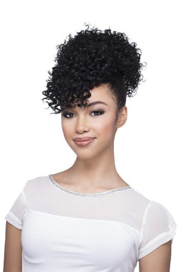 Vivica A Fox BPB-Pop Bang N Bun Synthetic Ponytail Front