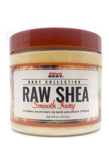 Africa's Best Body Collection Raw Smooth Ivory Shea Butter 16 oz