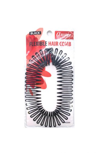 Annie #3200 Black Flexible Hair Comb