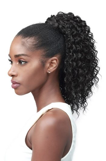 "Bobbi Boss Miss Origin Designer Mix Tress Up Water Wave 14"" Ponytail"
