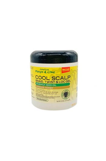 Jamaican Mango and Lime Cool Scalp Braid, Twist, and Loc Gel 6 OZ