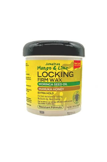 Jamaican Mango and Lime Locking Firm Wax Resistant Formula 16 OZ