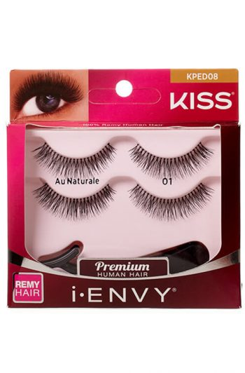Kiss i-Envy Au Naturale Double Pack KPED08 Packaging Front