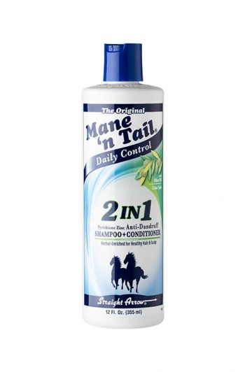 Mane 'N Tail Daily Control 2-In-1 Anti-Dandruff Shampoo and Conditioner 12 OZ