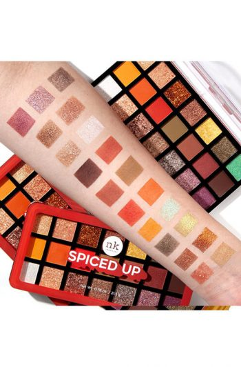 Nicka K Spiced Up Eyeshadow Palette Arm Swatches