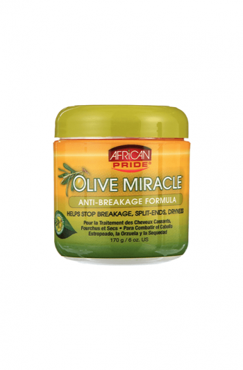 African Pride Olive Miracle Anti-Breakage Miracle Formula 6 OZ
