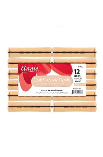 Annie #1102 Jumbo Cold Wave Rods 12 ct Sand