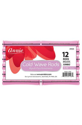 Annie #1103 Jumbo Cold Wave Rods 12 ct Orchid