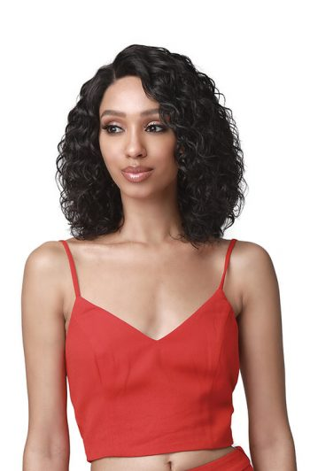 Bobbi Boss MHLF438 Kamali 100% Unprocessed Bundle Human Hair Lace Front Wig Front