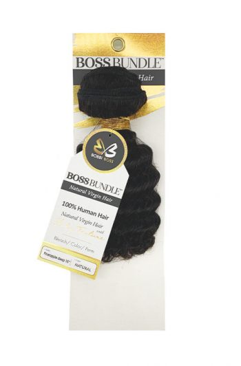 Bobbi Boss Gold Level Boss Bundle Hair Pineapple Deep Natural Virgin Weft Hair 10""