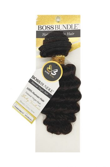 Bobbi Boss Gold Level Boss Bundle Hair Pineapple Deep Natural Virgin Weft Hair 12""