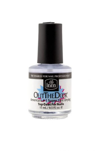 INM Out The Door Fast-Drying Nail Top Coat 0.5 oz