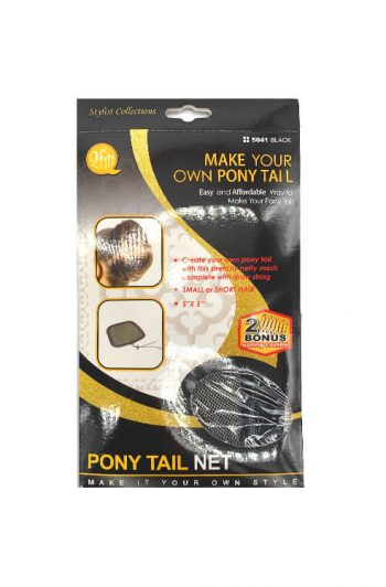 M & M Headgear Inc. Qfitt Pony Tail Net #5041