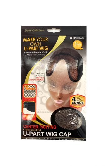 M & M Headgear Inc. Qfitt U-Part Wig Cap Center Parting #5015