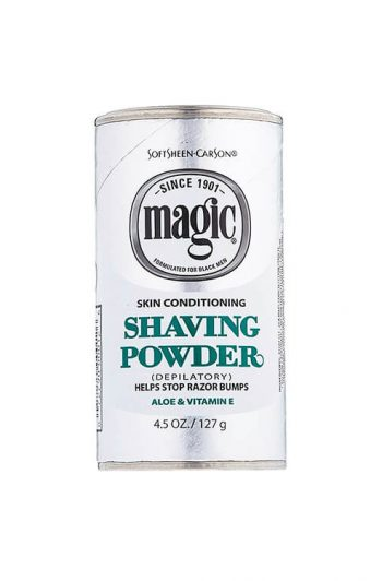 Magic Skin Conditioning Razorless Shaving Powder 4.5 oz