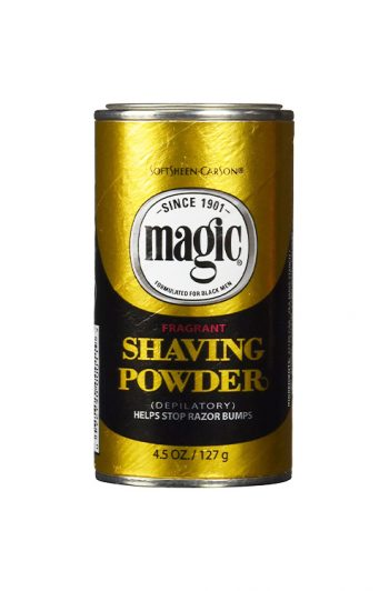 Magic Fragrant Razorless Shaving Powder 4.5 oz