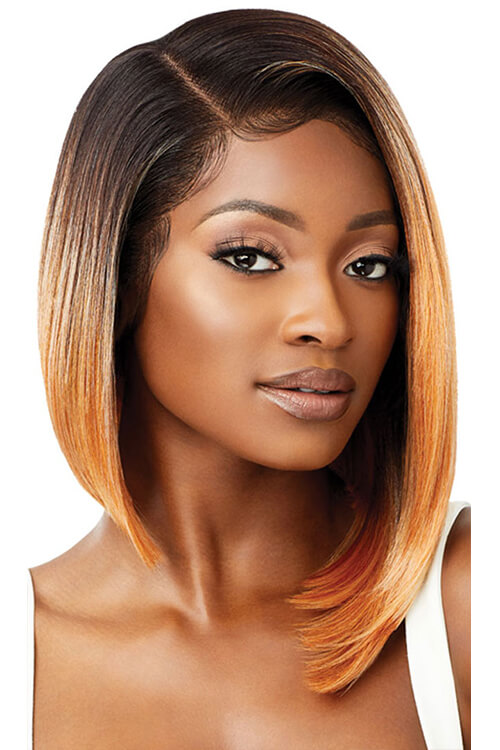 Outre Melted Hairline Zandra Golden Coral Front