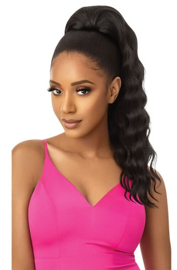 Outre Pretty Quick Ani Ponytail Model Front