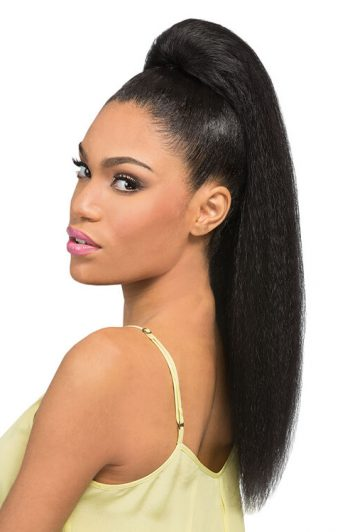 Outre Timeless Tess Drawstring Synthetic Ponytail Front