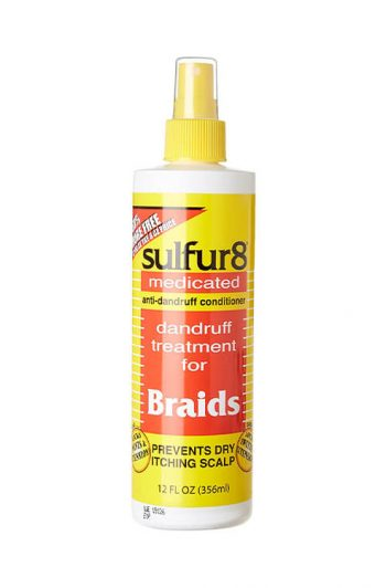 Sulfur8 Medicated Dandruff Treatment for Braids 12 OZ