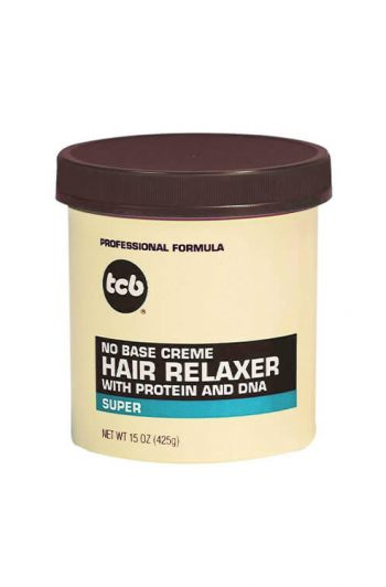 TCB No Base Creme Hair Relaxer With Protein and DNA Super 15 OZ