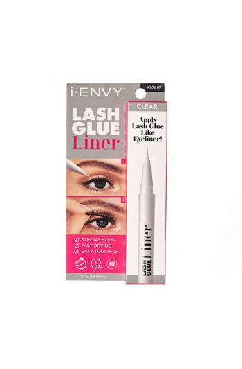 Lash Glue Liner Packaging Front White New
