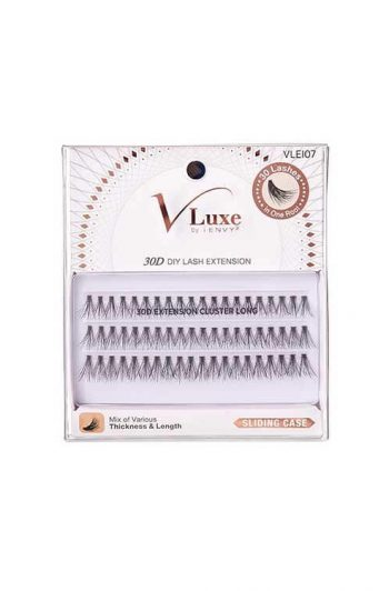 Kiss i-envy V-Luxe 30D Lash Clusters Long Packaging Front