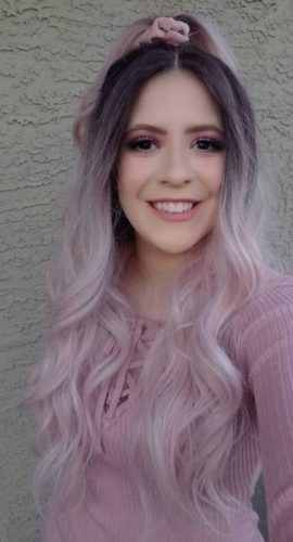 Blog - Sara Pink Hair 1