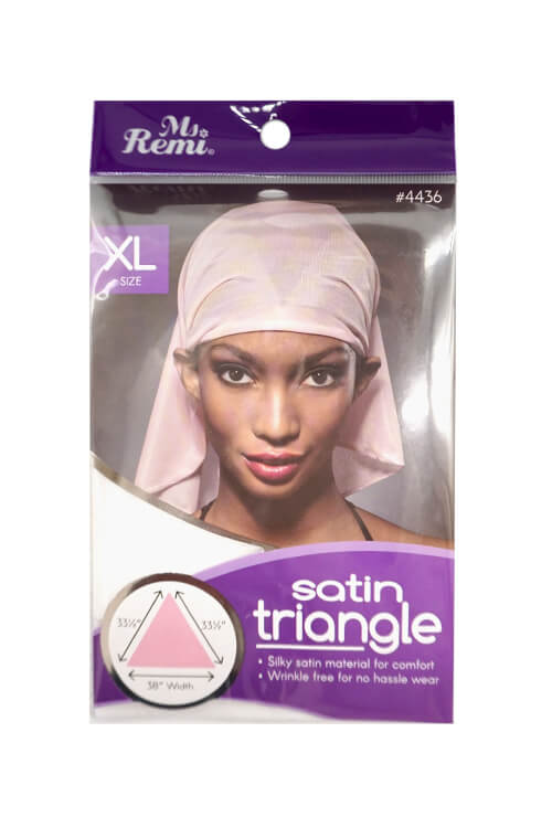 Annie Ms. Remi #4436 Extra-Large Satin Triangle Assorted Colors
