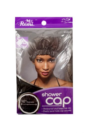 Annie Ms. Remi #4467 Extra-Large Shower Cap Black