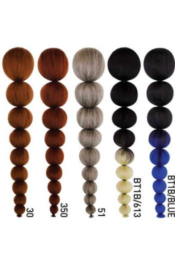 Fashion Source Bubbly Ponytail Color Chart 2