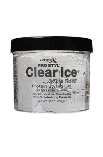 Ampro CLear Ice 32 oz Packaging Front