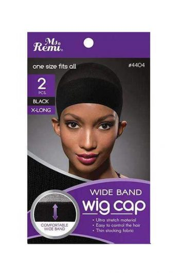 Annie Wig Cap Extra Long Black 4404