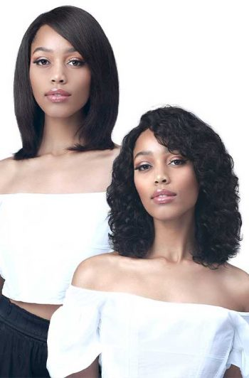 Bobbi Boss MH1300 Teresa Wig Model Straight to Wavy