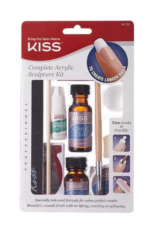 Kiss Complete Acrylic Sculpture Kit Packaging