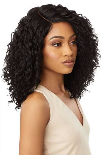 Outre Shireen Wig Model Side