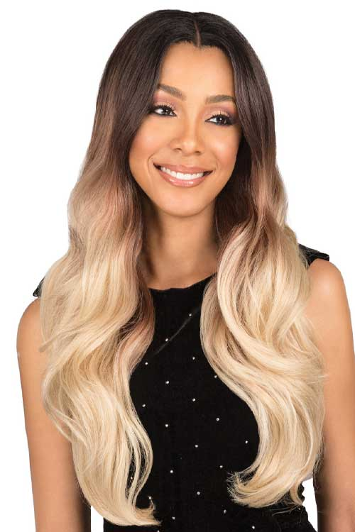 Bobbi Boss MLF308 Gianna Wig Model Front