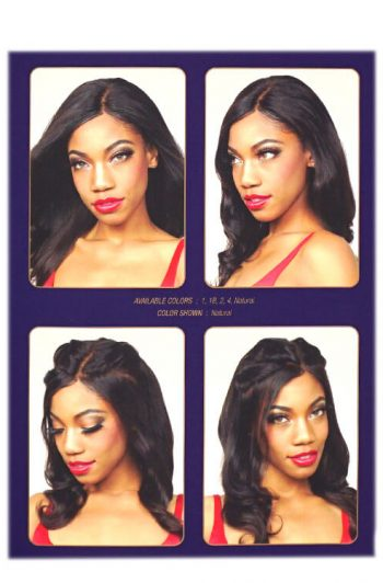 """Fashion Source Felicity 100% Human Hair 4"""" x 13"""" Full Frontal Closure Hairstyles"""