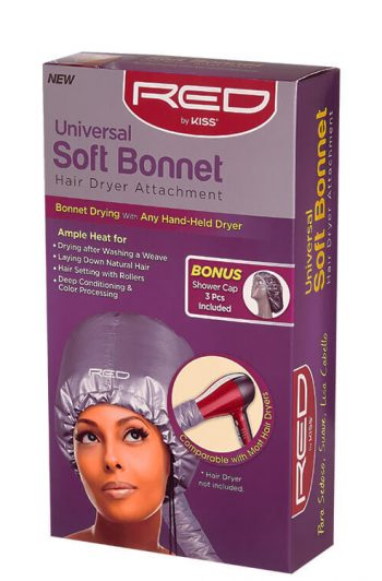 Red by Kiss Universal Soft Bonnet Box