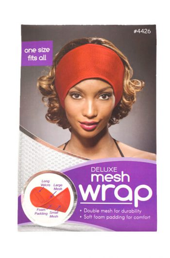 Annie Ms. Remi Deluxe Mesh Wrap Assorted Colors #4426 White